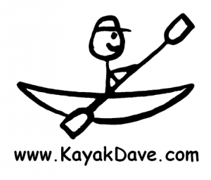 KayakDave Round Sticker