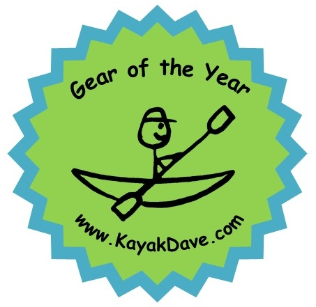 KayakDave Gear of the Year Stamp