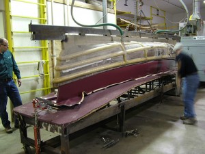 Wenonah manufacturers its Royalex and composite canoes in Minnesota