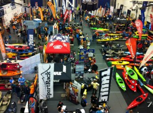 Picture taken LIVE at this year's paddlesport show- by Wilderness Systems