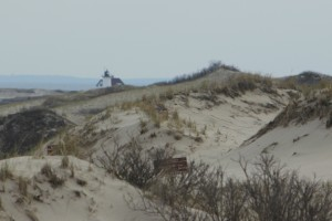 A View Across the Province Lands toward Race Point Light, Cape Cod National Seashore