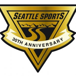Seattle Sports 30th Logo