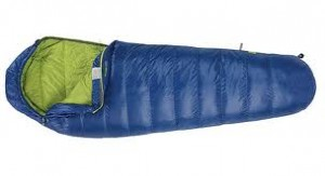 The Sierra Designs Zissou 12 is an example of a mummy-style, dridown-filled sleeping bag (Image Courtesy of Sierra Designs)