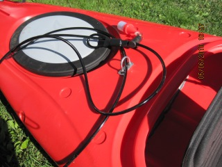 Kayak locks are one of the best ways to prevent a kayak theft