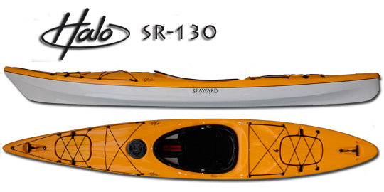 Seaward Kayaks Halo SR-130 (Image courtesy of  Seaward Kayaks)