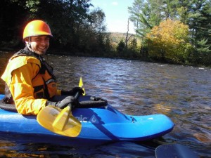 See...sea kayakers can enjoy whitewater too!
