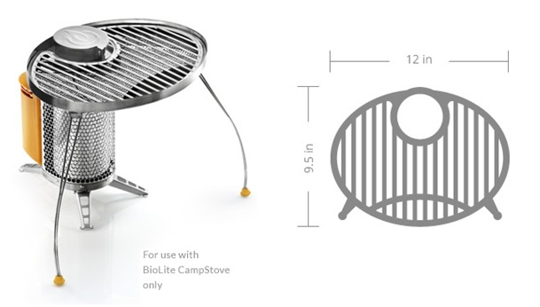 BioLite Camp Stove Portable Grill
