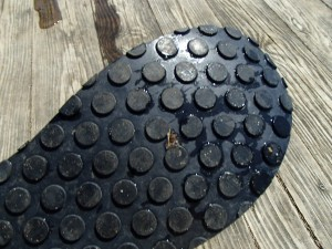 Stealth Rubber soles provide amazing grip!