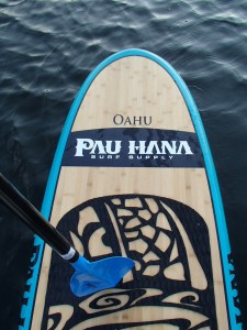 Pau Hana Oahu SUP with Aquabound Freedom paddle