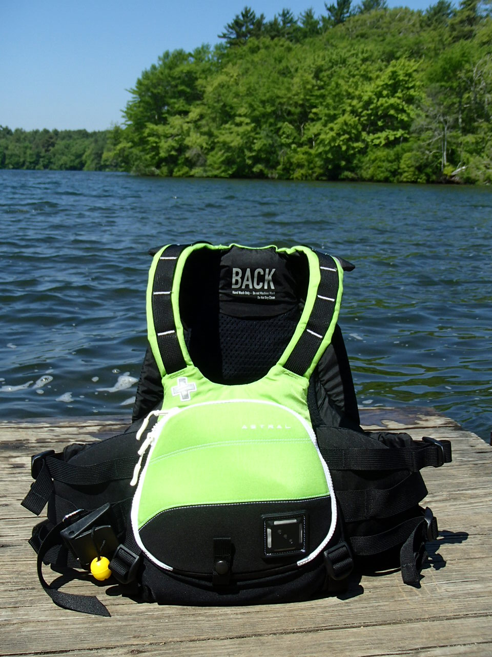 Astral Greenjacket (2013 Edition) PFD Review | Kayak Dave's