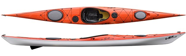 Stellar Intrepid 18 (SI18) Sea Kayak (Image Courtesy of Stellar Kayaks)