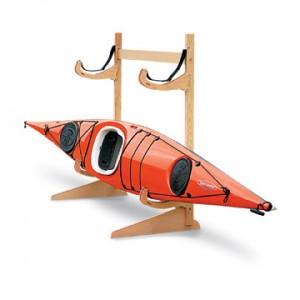 Racks are a great way to keep your kayak safe over the winter (Image Courtesy of Talic)