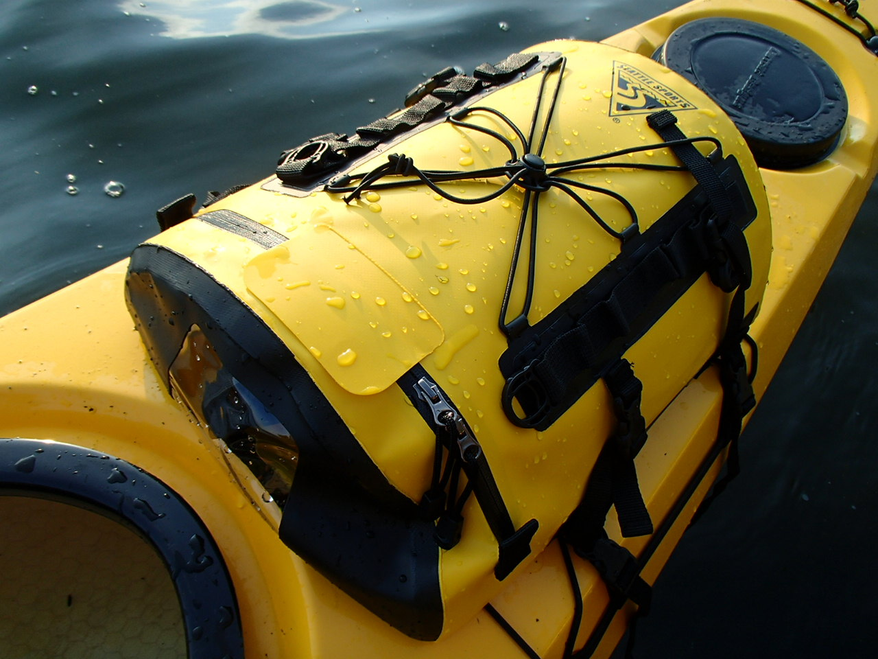 Seattle Sports Deluxe Deck Bag Review Kayak Dave S