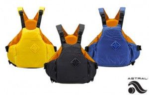 The Astral YTV is a great PFD to wear while SUPing!